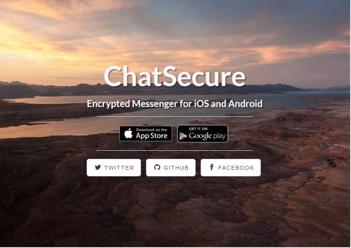 chatsecure app