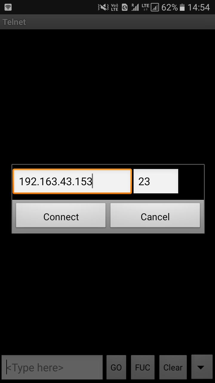 telnet app