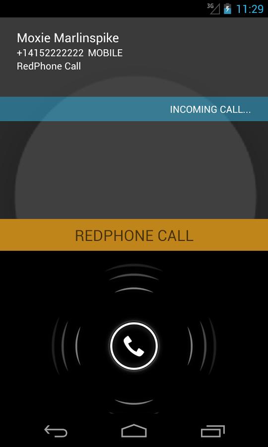 Redphone app