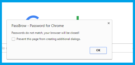 how to password protect your browser