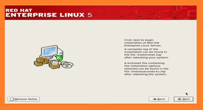 redhat linux 5