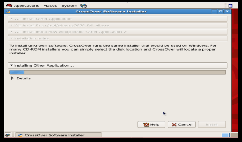 winamp in linux