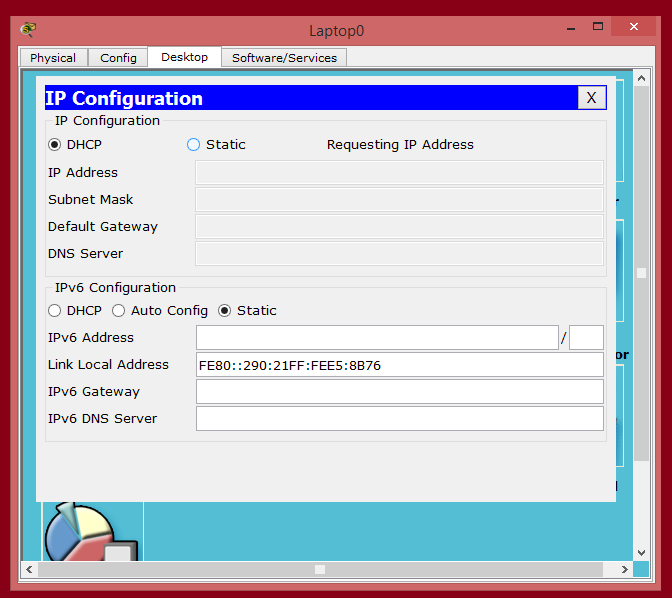 how to configure cisco router as dhcp server