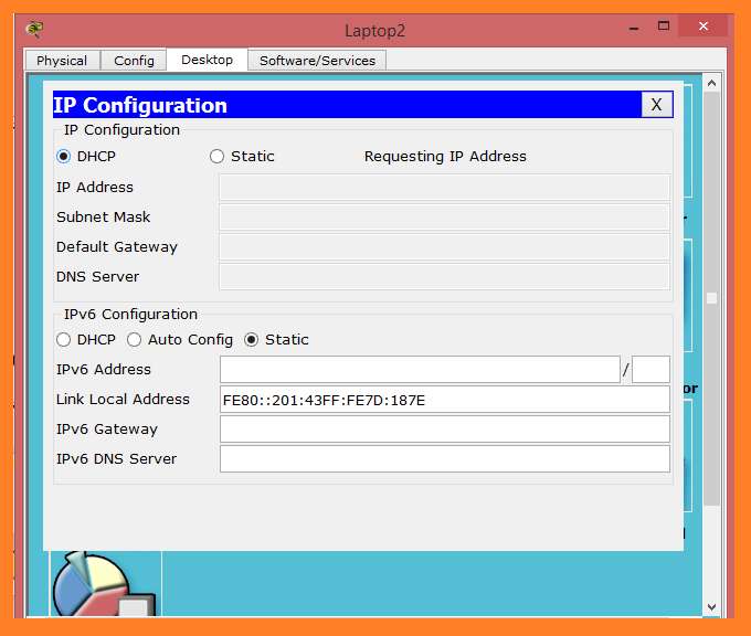 dhcp ip request in ccna
