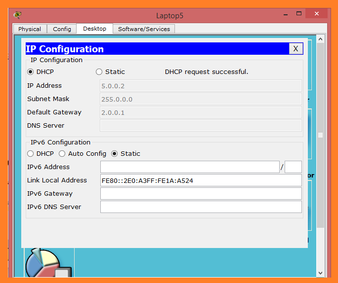 dhcp ip request