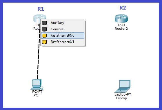 routers and pc connection