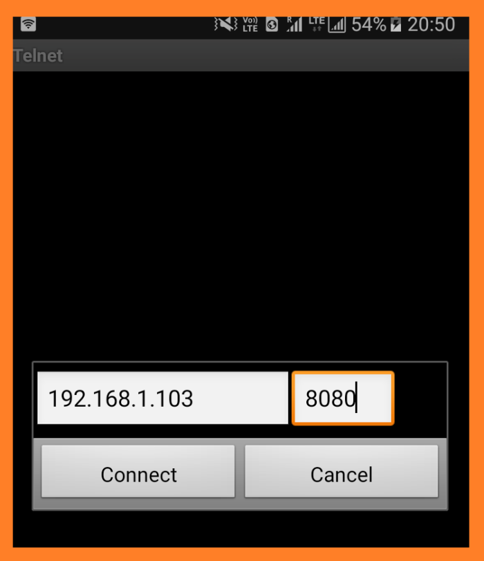 stelnet in android
