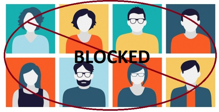 blocked users