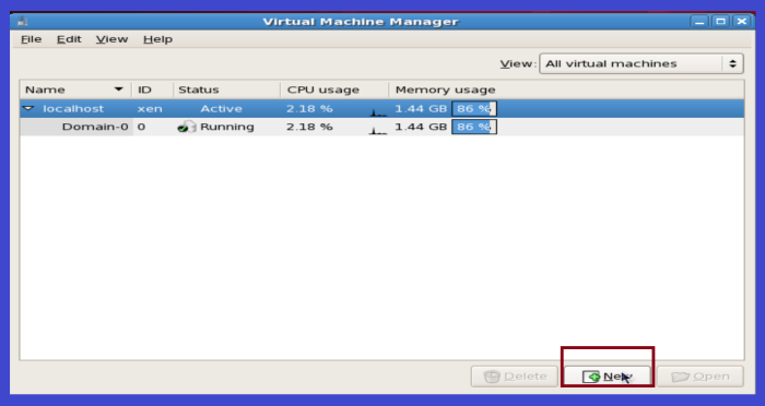 virtual machine manager n linux